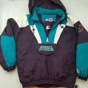 Vintage 90's Starter Mighty Ducks Pullover Jacket